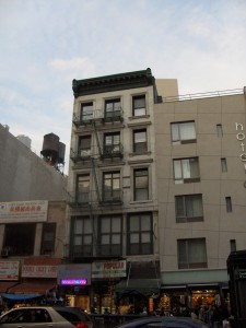 255 Canal Street - the Loft was on the 5th Floor